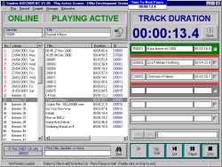 Automation Software Screen image