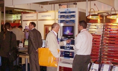 Sonifex Stand at IBC 2009