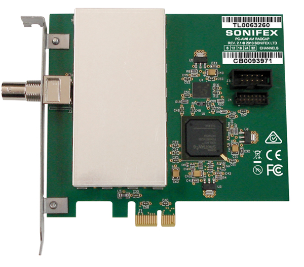 PC-AM6-32 AM Radcap PCle Card (6 to 32 Channels)